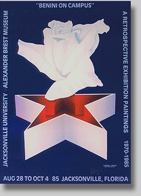 Commemorative Poster of Painting by Benini: Alexander Brest Museum Exhibition
