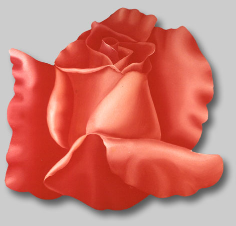 Roses in Paintings: Sweet Lady Rose