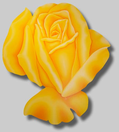 Roses in Paintings: San Antonio Rose